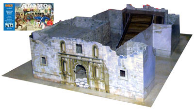 Alamo Playset with Alamo Chapel