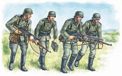 WWII German Panzergrenadiers Set #1 1939-42