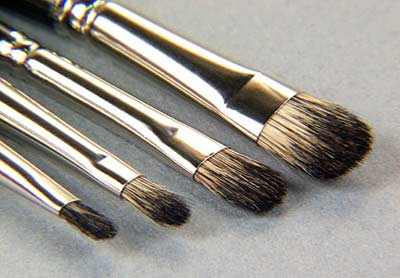 Dry Brush Set- Mongolian Sable