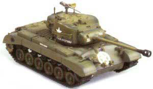 M26 Pershing Heavy Tank, Tank Company A, 18th Tank Battalion, 8th Armored Division