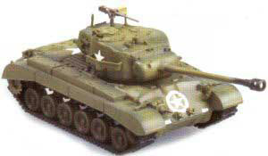 M26 Pershing Heavy Tank, Tank Company E, 67th Armor Regiment, 2nd Armored Division