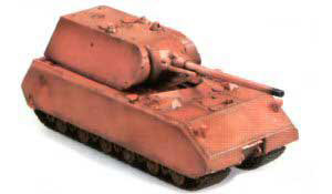 German Maus Tank (Base Color Coated)