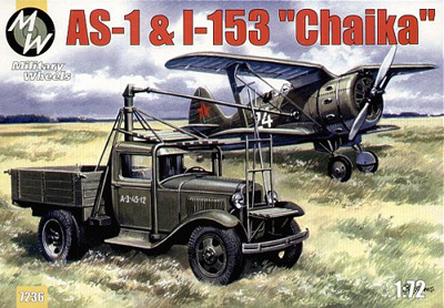 AS-1 Starter Truck with I-153 Fighter