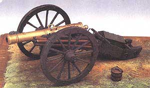 8lb. Gribeauval Cannon