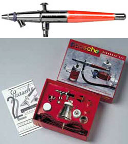 VLS Double Action Airbrush Set
