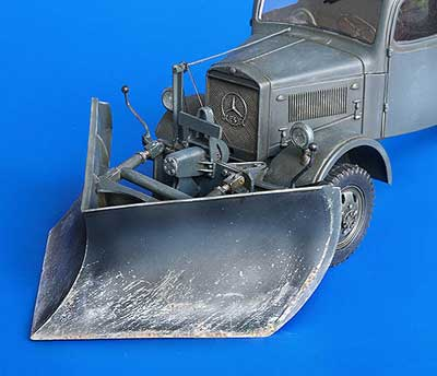 German Medium Snow Plow Type K Conversion Set