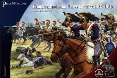 Perry Miniatures Napoleonic French Heavy Cavalry 1812-15