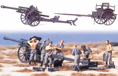 Light Field Howitzer 10.5cm with Accessories 1939-45