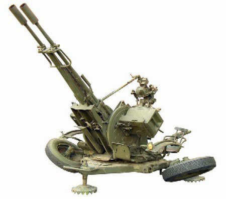 ZU23-2 Anti-Aircraft Gun