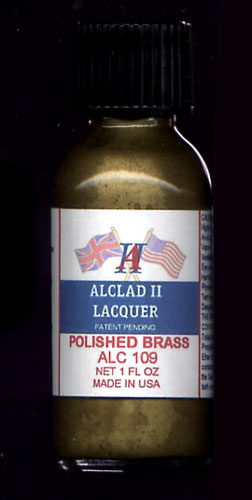 Polished Brass Lacquer 1oz. Bottle