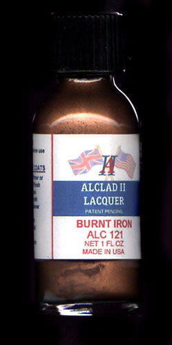 Burnt Iron Lacquer 1oz. Bottle