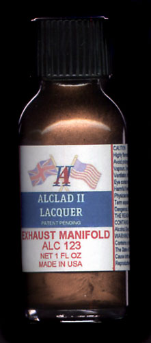 Exhaust Manifold Lacquer 1oz. Bottle