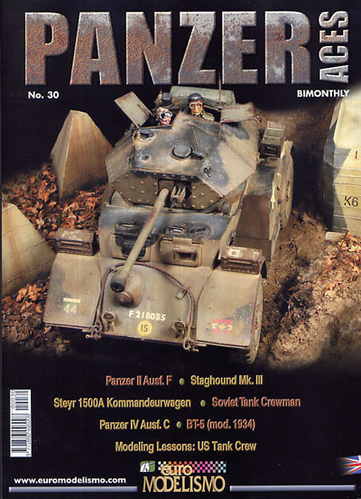 Armor Models/Panzer Aces Magazine Issue #30