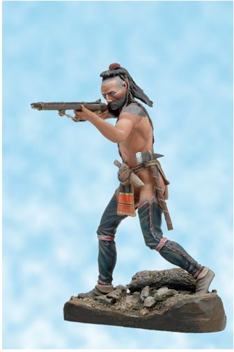 Mohican Warrior 1757