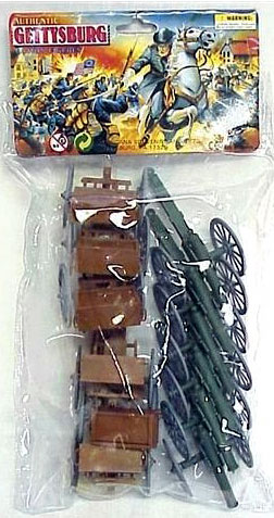 Cannon and Limber Wagon Set Bagged Set