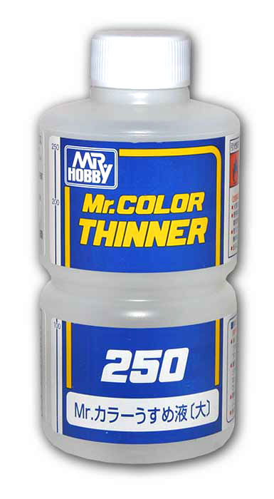 Mr. Color Paint Thinner 250ml Bottle
