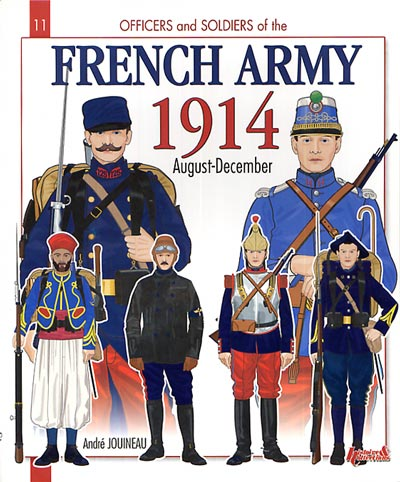 French Army 1914, August-December