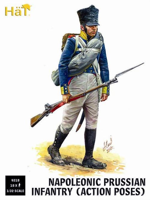 Napoleonic Prussian Infantry Action Poses
