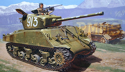 M4A2 75mm Wet Sherman Tank