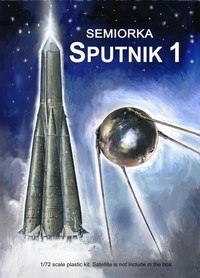 Semiorka Sputnik 1 Russian Orbiting Satellite Rocket