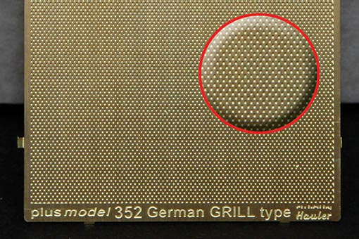 World War II German Grill Engraved Plate