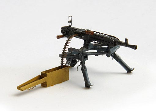 WWII German Machine Gun MG 37t