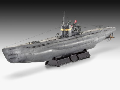 German U-Boat Type VIIC/41 Submarine (Atlantic Version)
