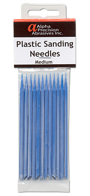 Plastic Sanding Needles Assortment