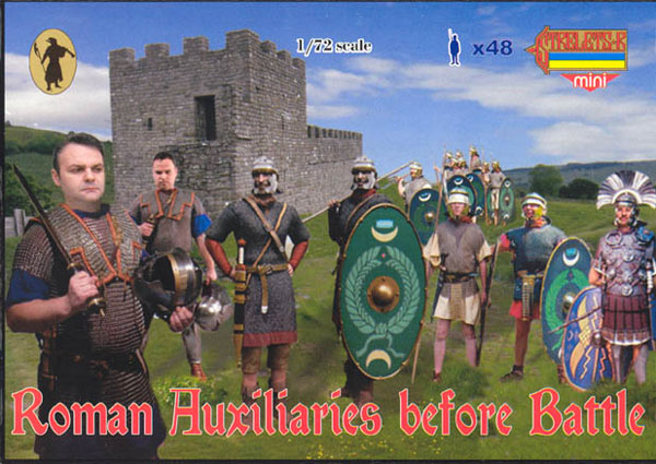 Roman Auxiliaries Before BattleStrelets Mini -