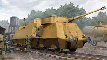 WWII German Panzerjager-Triebwagen 51 Armored Tank Hunter Railcar