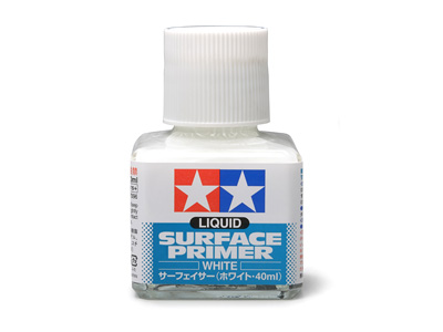 Liquid Surface Primer White 40ml Bottle