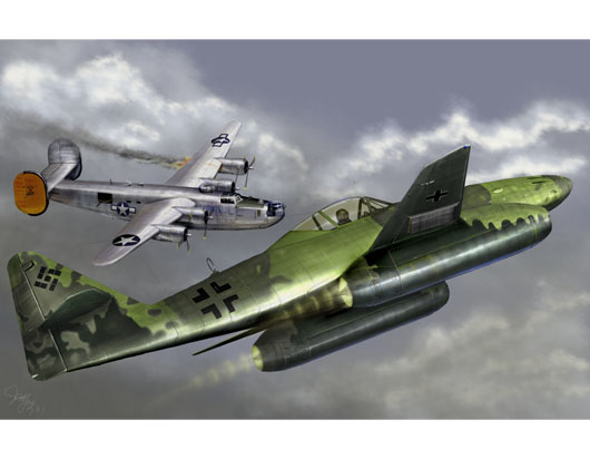 Messerschmitt Me262 A-1a German Fighter
