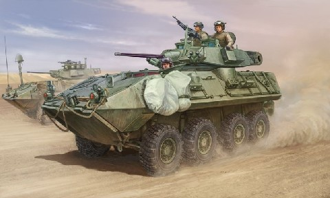 LAV A2 8x8 Wheeled Armored Vehicle