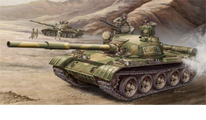 Russian T-62 Model 1972 Main Battle Tank