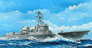 USS Forrest Sherman DDG98 Arleigh Burke Class Guided Missile Destroyer
