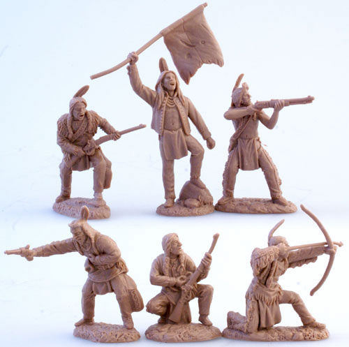 Old West Plains Indian Warriors Set #2