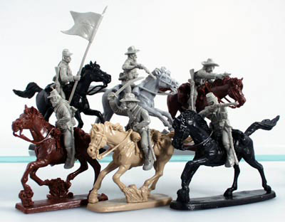 ACW Confederate Cavalry in Gray
