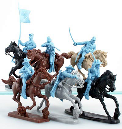 ACW Union Cavalry in Lt. Blue