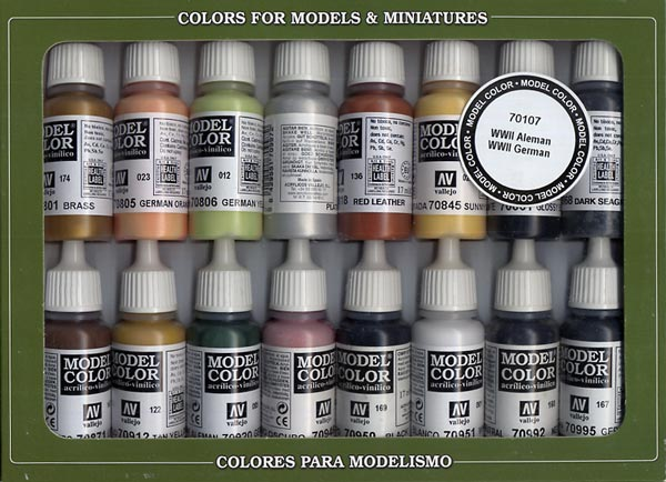 Vallejo Model Color - WWII German Pack