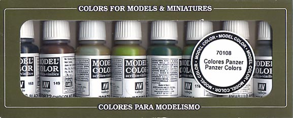 Vallejo Model Color - WWII German Panzer Colors Pack