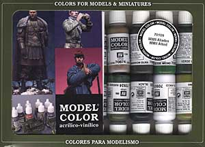 Vallejo Model Color - WWII Allied Pack