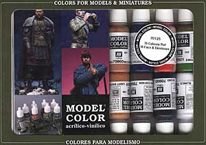 Vallejo Model Color - Faces, Skin and Flesh Tones Pack