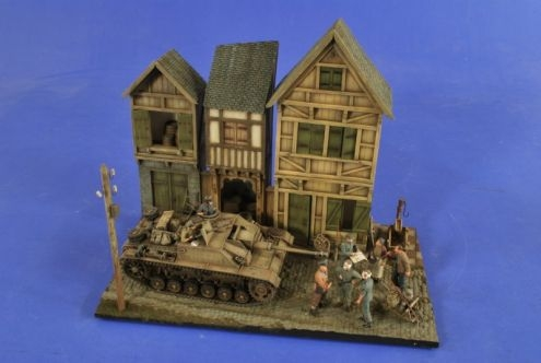 German Village Diorama