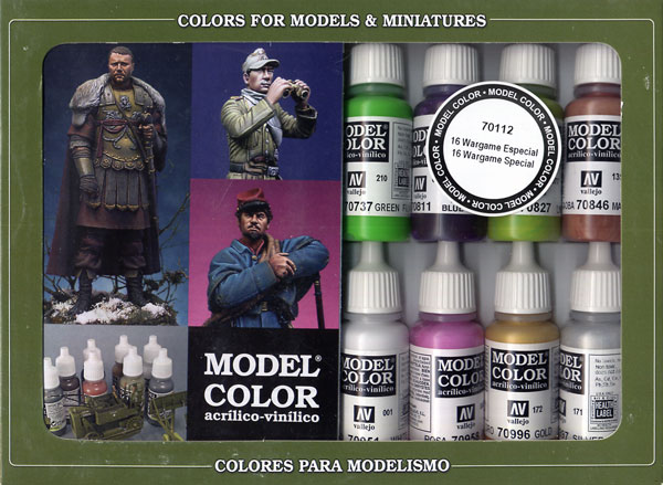 Vallejo Model Color - Wargames Special