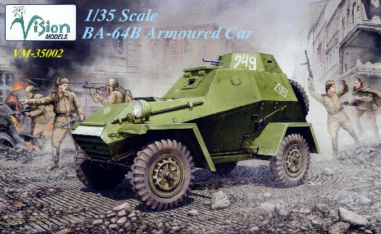 World War II Russian BA64B Armored Car