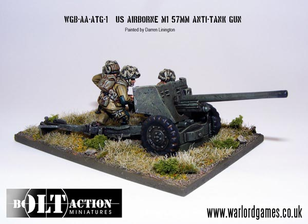 German 50 Mm Anti Tank Gun: Michigan Toy Soldier Company : Warlord Games