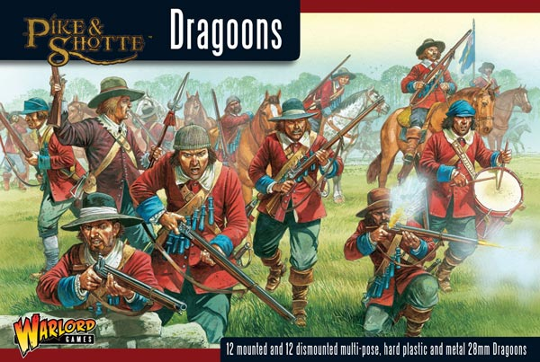 English Civil War: Dragoons (12ft., 12 mtd.)
