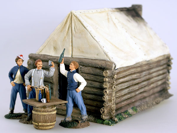 O Be Joyful- Union Soldiers in Camp