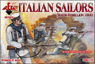 Italian Sailors, Boxer Rebellion 1900