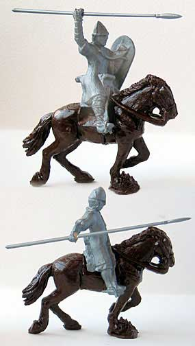 Mounted Normans Set #2